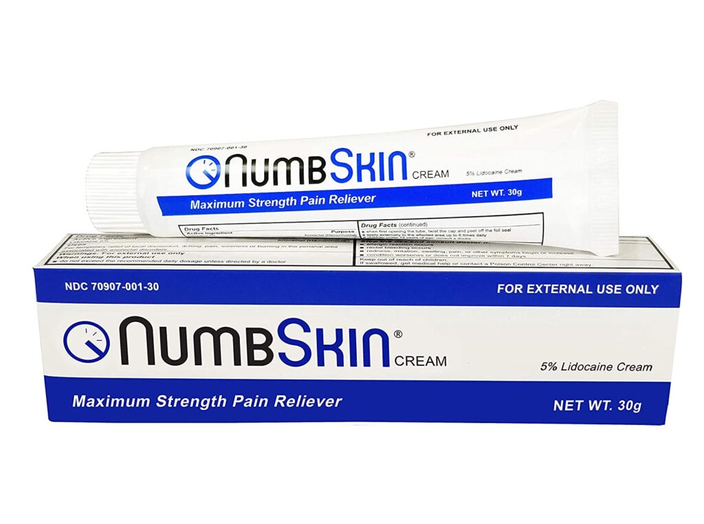 Fast Acting Tattoo Numbing Cream for Deep Pain Relief Numbing Cream