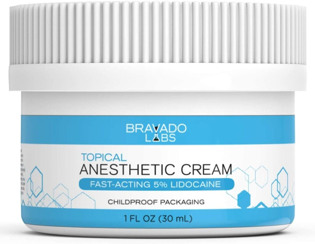 Premium Bravado Numbing Cream for tattoos and waxing